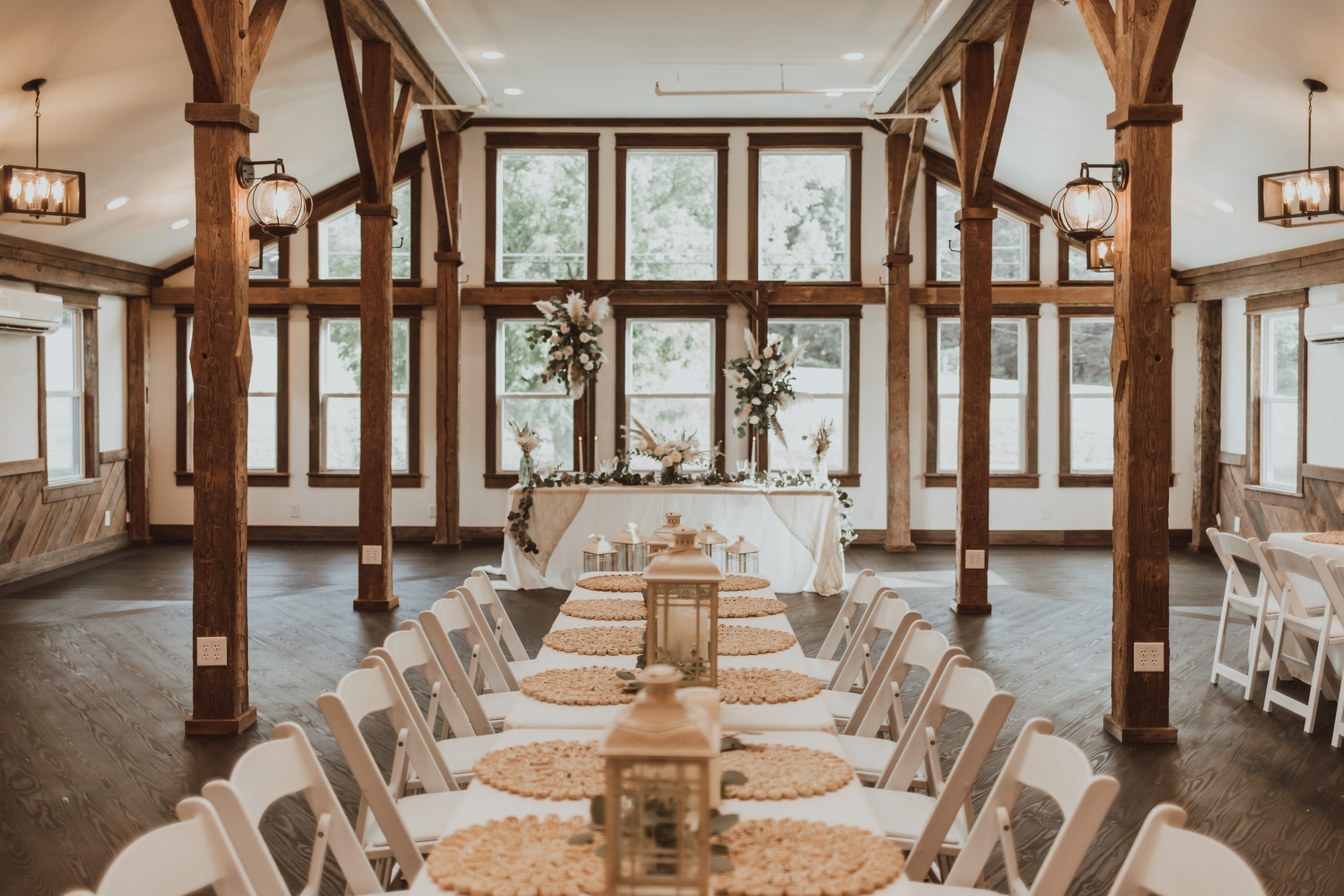 Affordable boho wedding venue in the smoky mountains